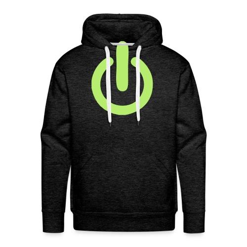 beheerd uitknop - Mannen Premium hoodie