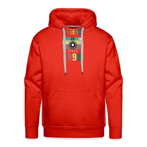 Legend since 1998 birthday t-shirt - Mannen Premium hoodie