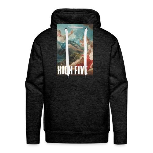High Five - Sweat-shirt à capuche Premium pour hommes