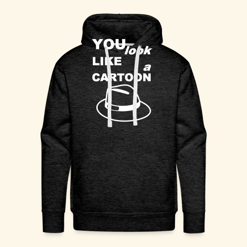 Cartoon Spruch Zitat lustig Geschenk - Men's Premium Hoodie