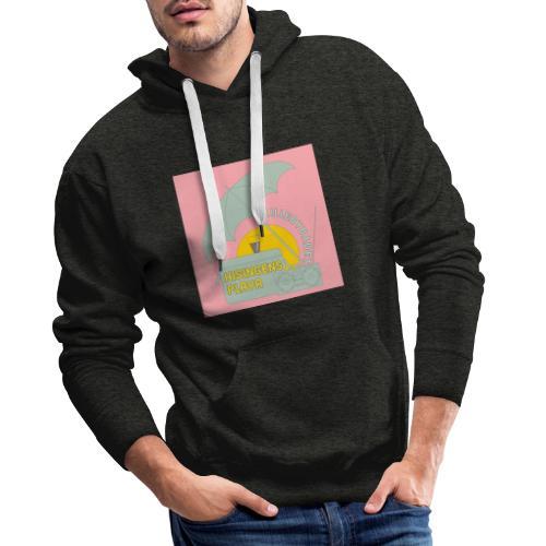 Hisingens playa pink - Premiumluvtröja herr