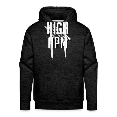 XpHighAPM - Sweat-shirt à capuche Premium pour hommes