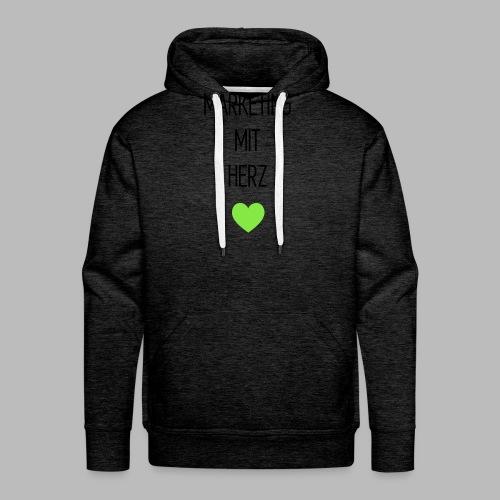 Marketing mit Herz - Männer Premium Hoodie