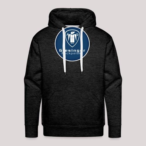 circlelogo_blue_bright_be - Männer Premium Hoodie