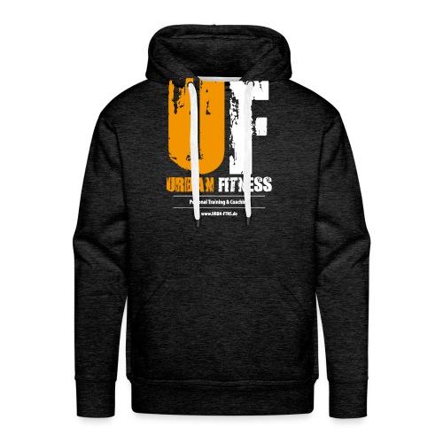 UF - URBAN FITNESS Personal Training & Coaching - Männer Premium Hoodie
