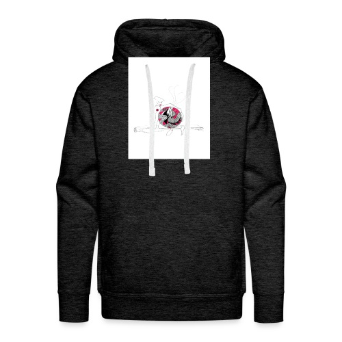 red lady - Men's Premium Hoodie