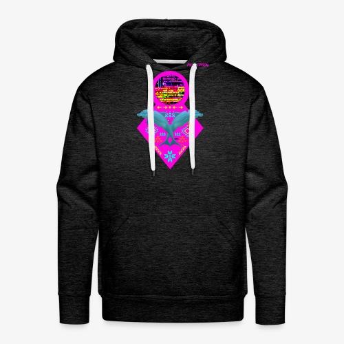 DAUPHINS PERCEPTION - PERCEPTION CLOTHING - Sweat-shirt à capuche Premium pour hommes