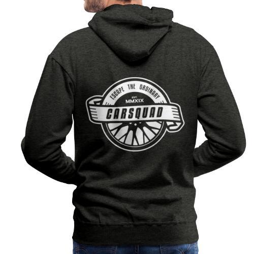 carsquad badge - Männer Premium Hoodie