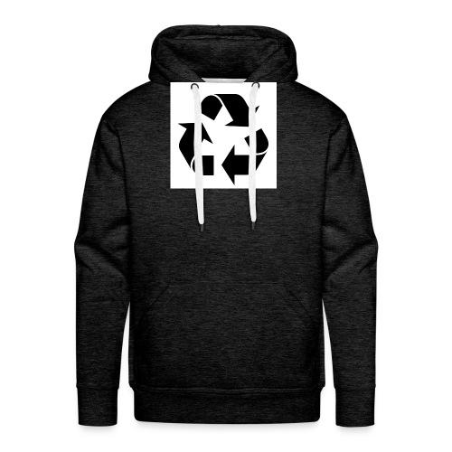 maglia ciclo di vita - Felpa con cappuccio premium da uomo