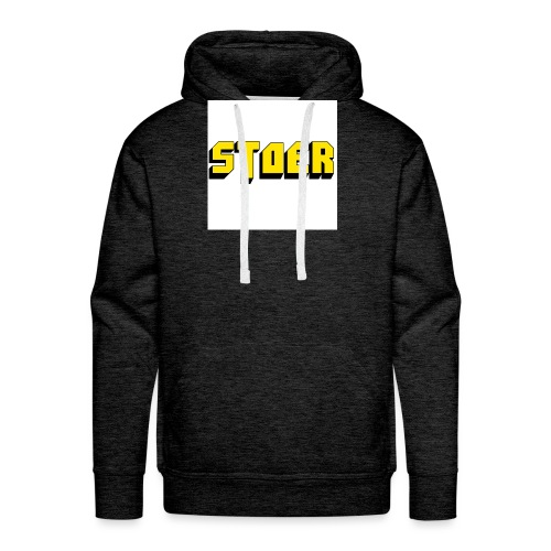stoer shirt - Mannen Premium hoodie