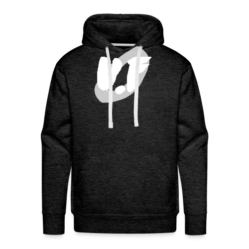 camiseta pico logo UF blanco - Sudadera con capucha premium para hombre