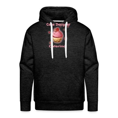 cupcakke - Felpa con cappuccio premium da uomo