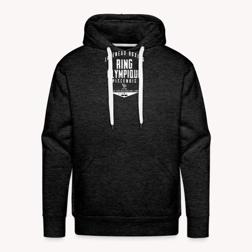 ROP LOGO 03 sans font - Sweat-shirt à capuche Premium pour hommes