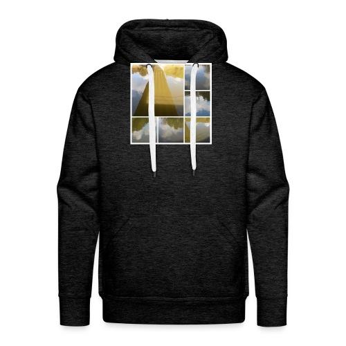 09 10 2016 001-COLLAGE - Sweat-shirt à capuche Premium pour hommes