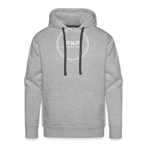 white logo transparent 2x - Men's Premium Hoodie
