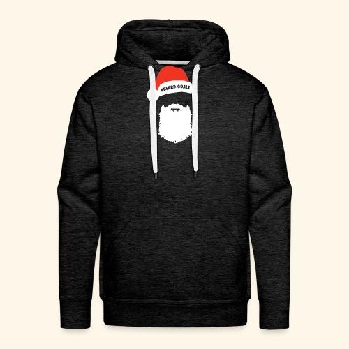 Beard Goals Santa - Men's Premium Hoodie