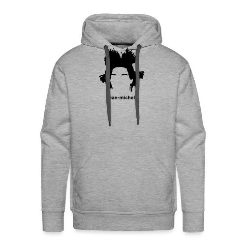 Jean-Michel Basquiat - Felpa con cappuccio premium da uomo