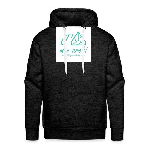 J aime mon archi - Sweat-shirt à capuche Premium pour hommes