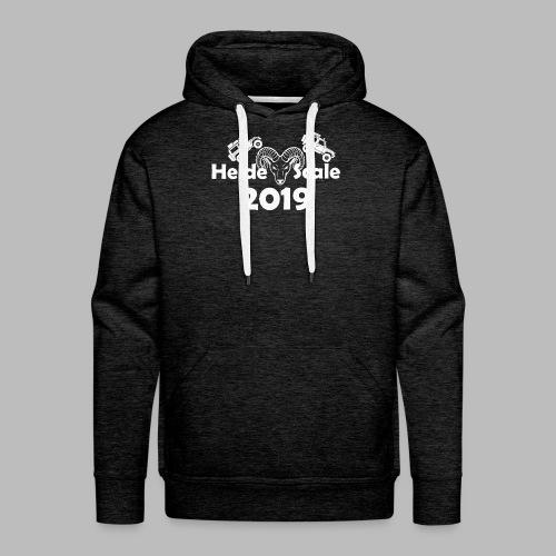 HeideScale 2019 weisser Aufdruck - Männer Premium Hoodie