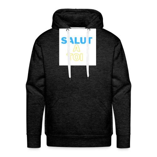 salut 1 - Sweat-shirt à capuche Premium pour hommes