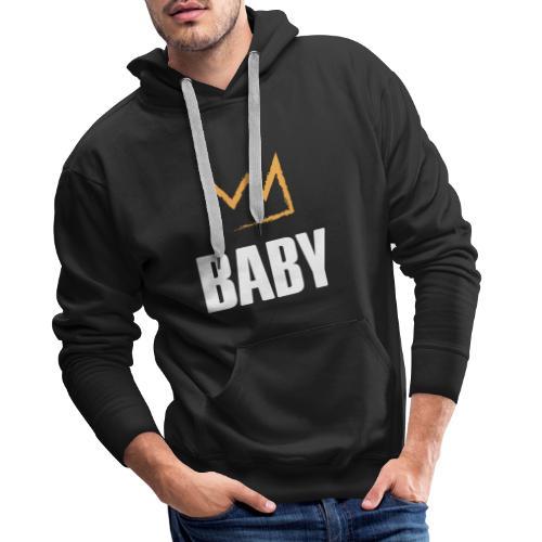 Baby mit Krone - Männer Premium Hoodie