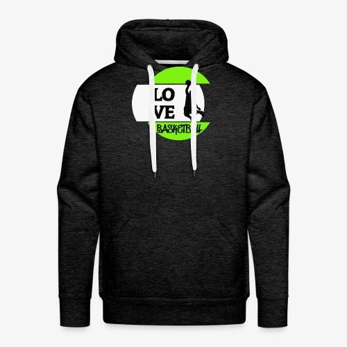 Love Basketball - Männer Premium Hoodie