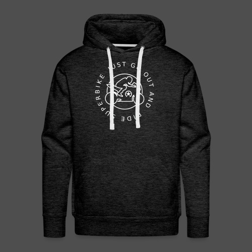 just go out and ride superbike 0GO03 - Männer Premium Hoodie