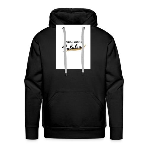 Cinquante - Sweat-shirt à capuche Premium pour hommes