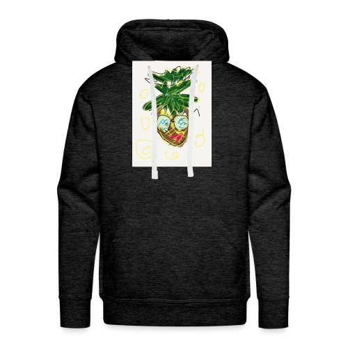Crazy pineapple - Men's Premium Hoodie