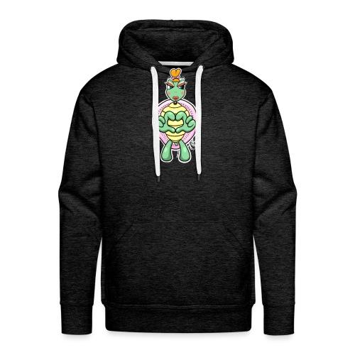 Girlie Turtle/ Schildkröte - Männer Premium Hoodie