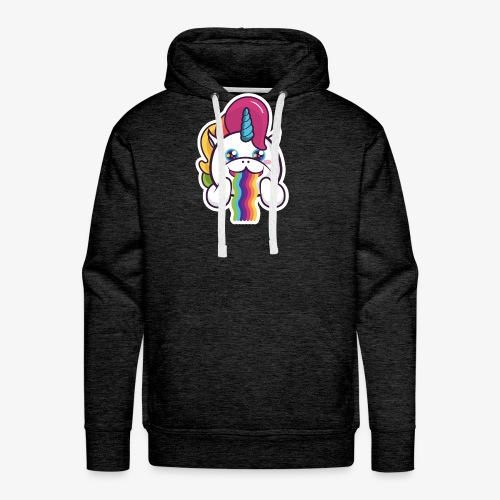 Funny Unicorn - Men's Premium Hoodie