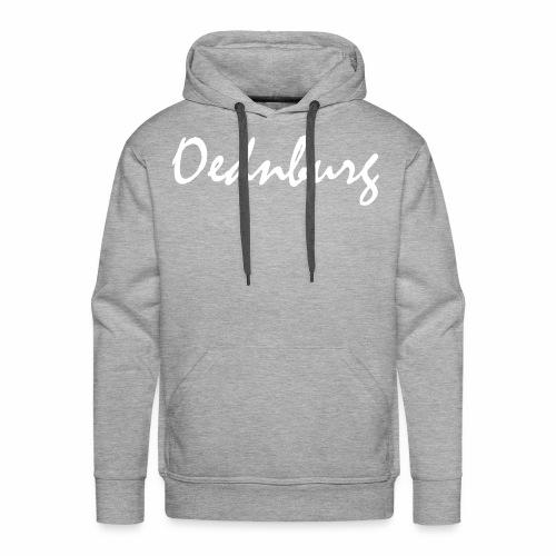 Oednburg Wit - Mannen Premium hoodie