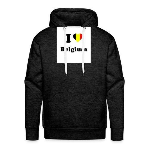 i love belgium - Mannen Premium hoodie
