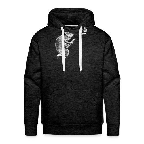 Schütze in Weiß - Männer Premium Hoodie