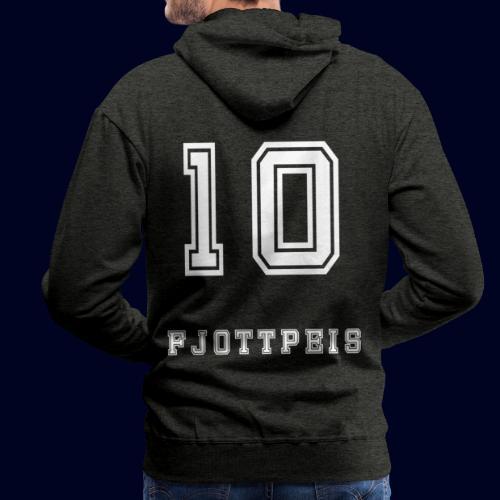 10 Fjottpeis - Premium hettegenser for menn