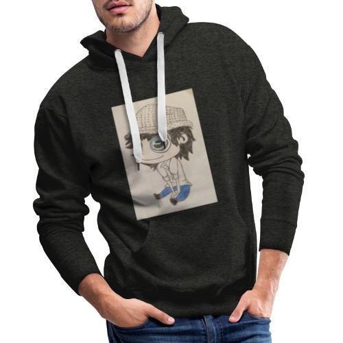 la vida es bella - Sudadera con capucha premium para hombre