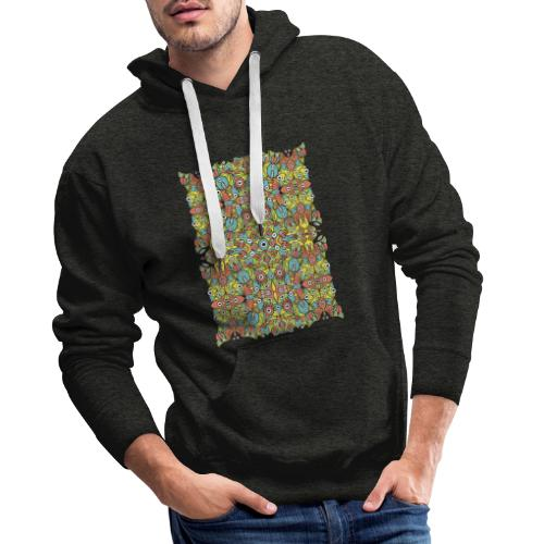 Weird creatures multiplying infinitely - Men's Premium Hoodie