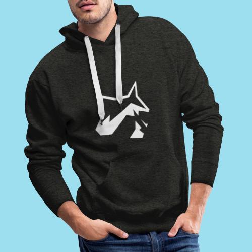 Raccoon Minimal - Männer Premium Hoodie