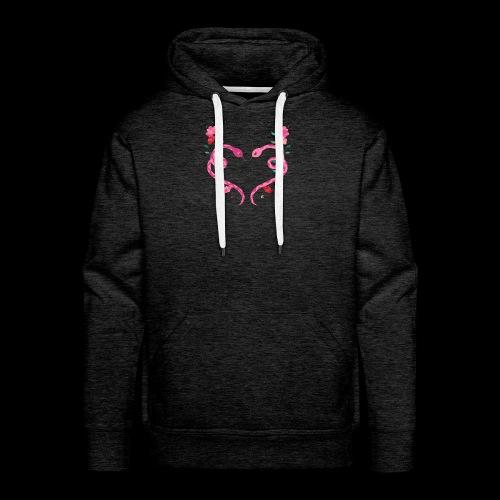 Coeur de serpents - Sweat-shirt à capuche Premium pour hommes