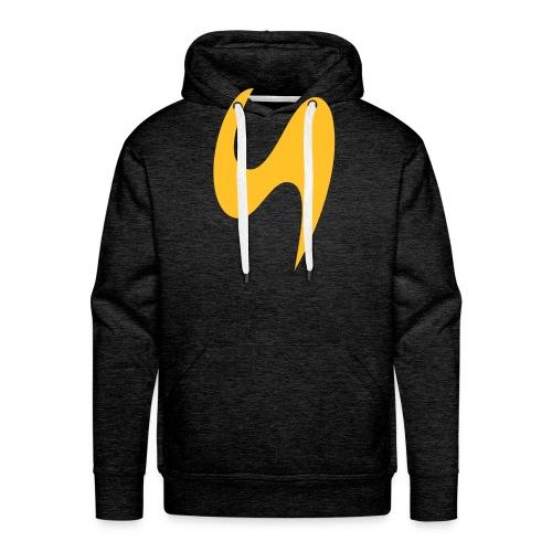 Stage School Logo Yellow - Männer Premium Hoodie
