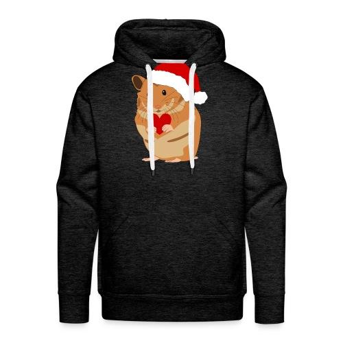 Weihnachtshamster Weihnachten Hamster Geschenk - Männer Premium Hoodie