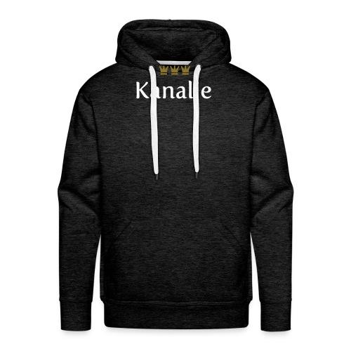 Kanalje (Köln/Kölsch/Karneval) - Männer Premium Hoodie