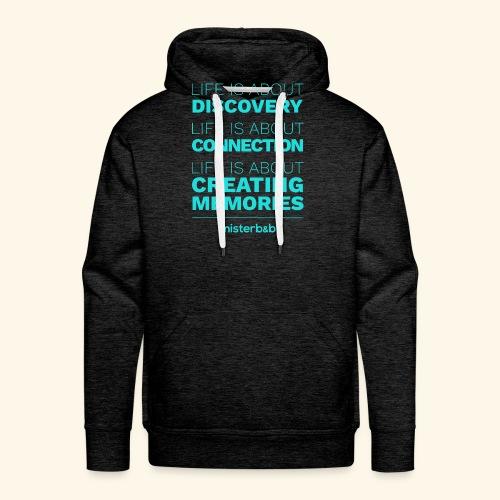 misterb&b - Sweat-shirt à capuche Premium pour hommes