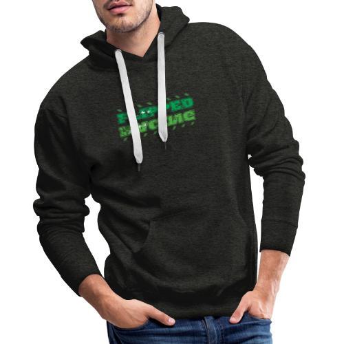Flipped Racing, A-Plus No Logo - Men's Premium Hoodie