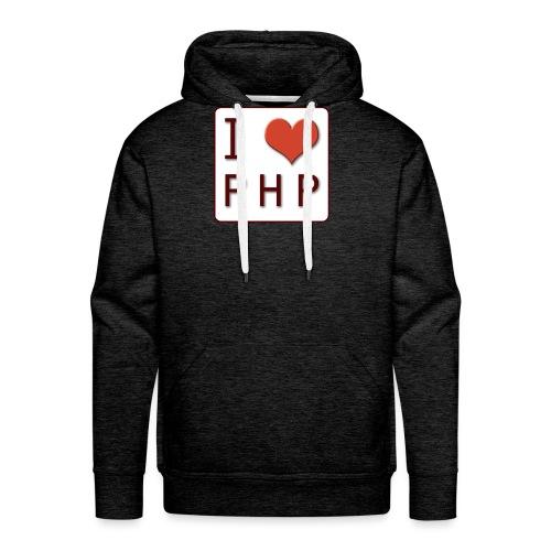 I LOVE PHP - Mannen Premium hoodie