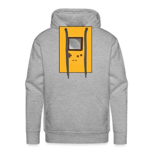 Game Boy Nostalgi - Laurids B Design - Herre Premium hættetrøje