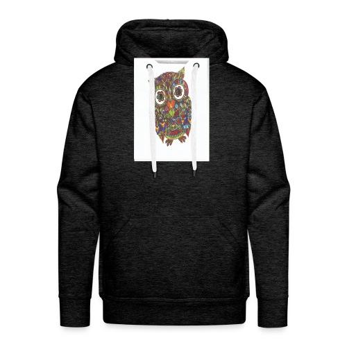Uglen - Herre Premium hættetrøje