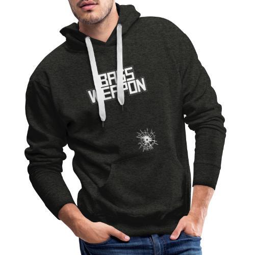 logo oben schuss untne - Männer Premium Hoodie