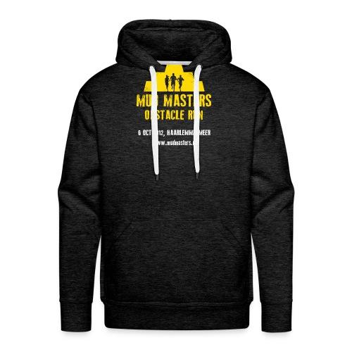 tshirt front - Mannen Premium hoodie