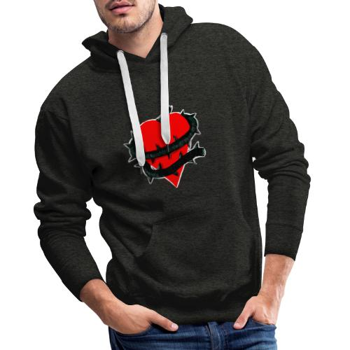 cuore ingrato - Sudadera con capucha premium para hombre